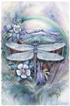 Journey To Paradise  mystical visionary  Art Print