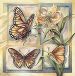 Butterflies mystical visionary  Art Print