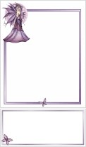 Lavender Moon Stationery Writing Set