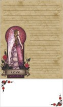 Love Angel Stationery Writing Set
