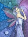 Celestial Faery II home accent Wall Art Tile
