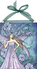 Just Believe home accent Wall Art Tile