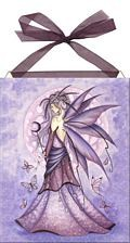 Lavender Moon home accent Wall Art Tile