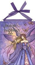 Magic Happens home accent Wall Art Tile