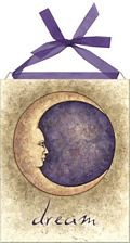 Mother Moon home accent Wall Art Tile