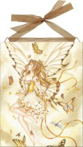 Rhapsody In Gold home accent Wall Art Tile
