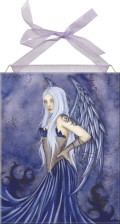 Blue Angel home accent Wall Art Tile