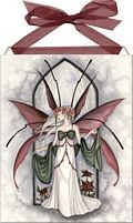 Yule Faery home accent Wall Art Tile