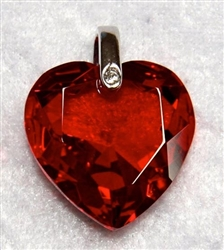 Heart of Queen Diamond Pendant