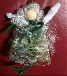 Green Lace Fairy Ornament