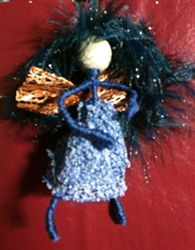 Blue Faery Ornament