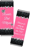 Bling Party Bat Mitzvah Candy Wrappers