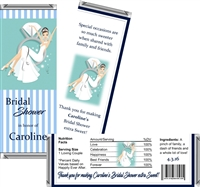 Ring Bling Bridal Shower Candy Wrappers