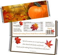 Fall Autumn Bridal Shower Candy Wrappers