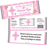 Baptism Christening Candy Wrappers