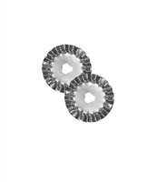 45mm Rotary Cutter Pinking Blade Set of 2