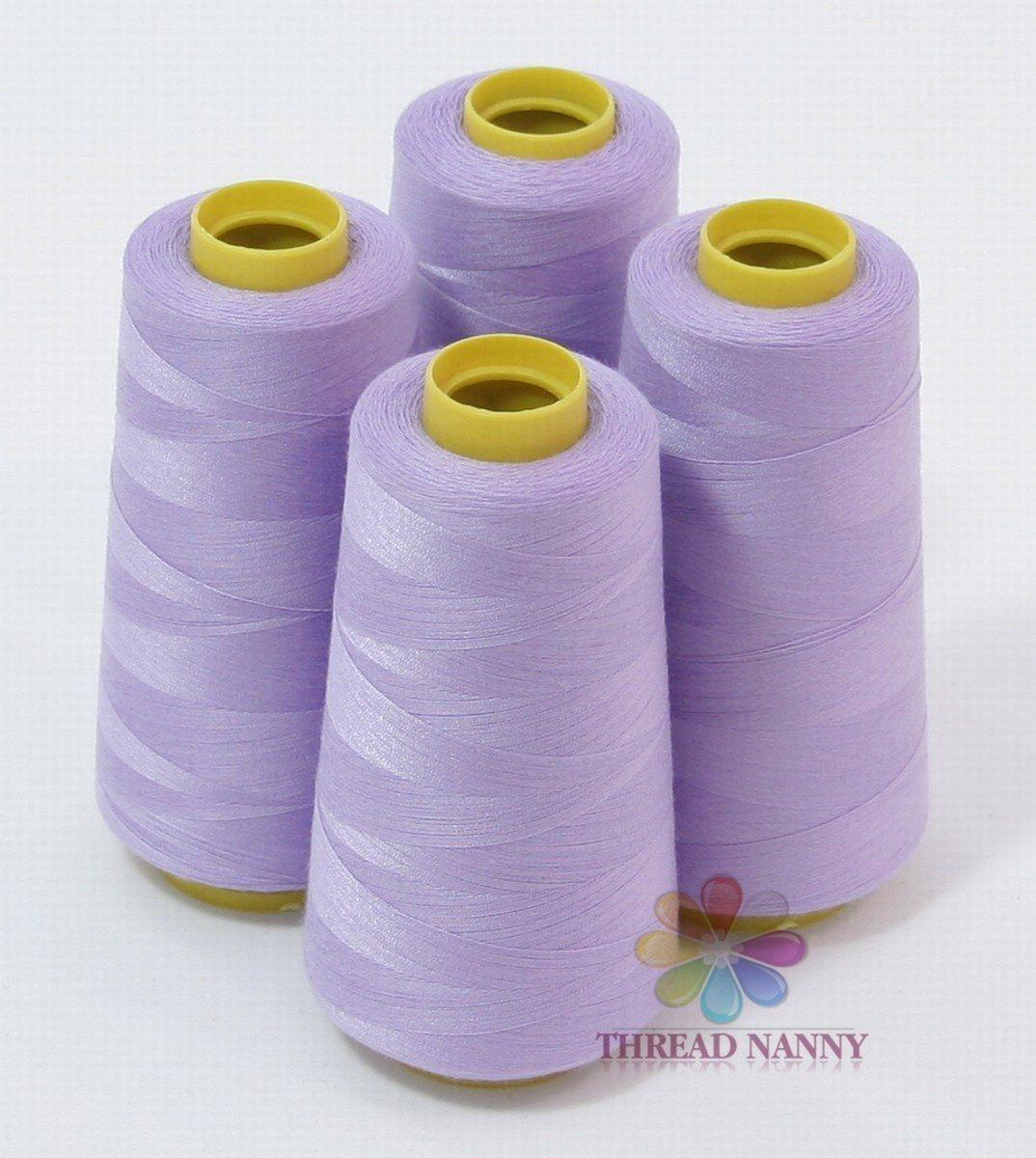 4 Xtra Large Cones of Polyester Sewing Quilting Serger Thread 3000yards Dark Red