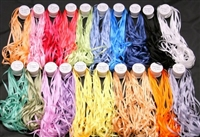 ThreadNanny 20 Spools of 7mm 100% Pure Silk Embroidery Ribbon