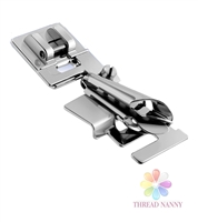 Bias Binder Presser Foot Fits All Low Shank Snap-On Sewing Machines by ThreadNanny