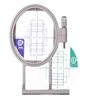 ThreadNanny SA442 1x 2.5 Embroidery Hoop w/ Grids for Brother, Innnovis, Babylock