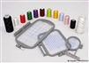 ThreadNanny 3-Hoop Machine Embroidery Set for Brother
