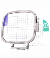 ThreadNanny 4x4 Embroidery Hoop w/ Grid for Brother