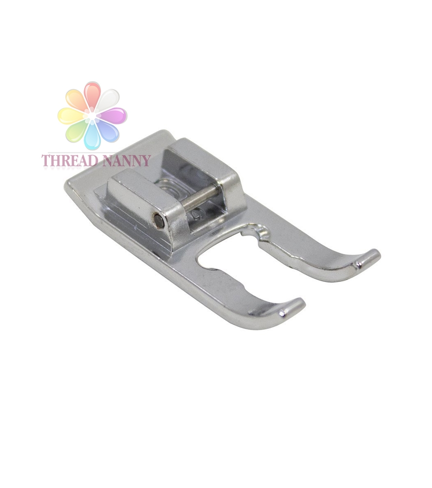 Snap on Metal Open Toe Satin Stitch Foot Babylock Brother Singer Janome Kenmore