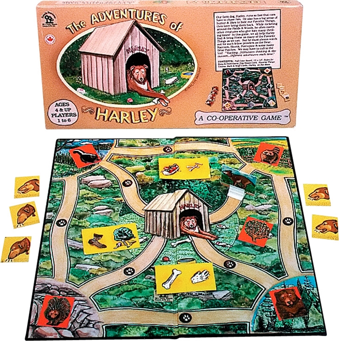 Harley Cooperative Game for Kids