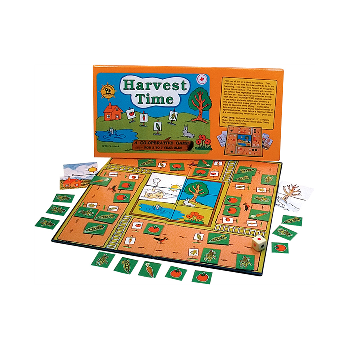 Harvest Time cooperative game  family pastimes