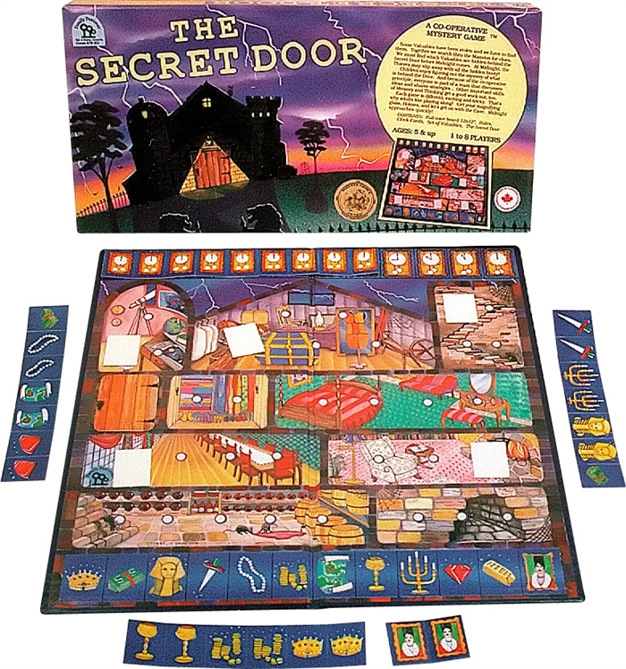 Secret Door Cooperative Game for kids family pastimes