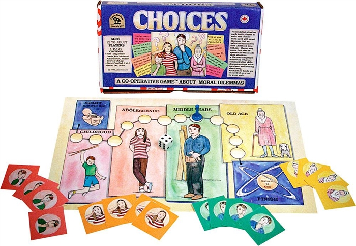 Choices cooperative game by family pastimes life decisions
