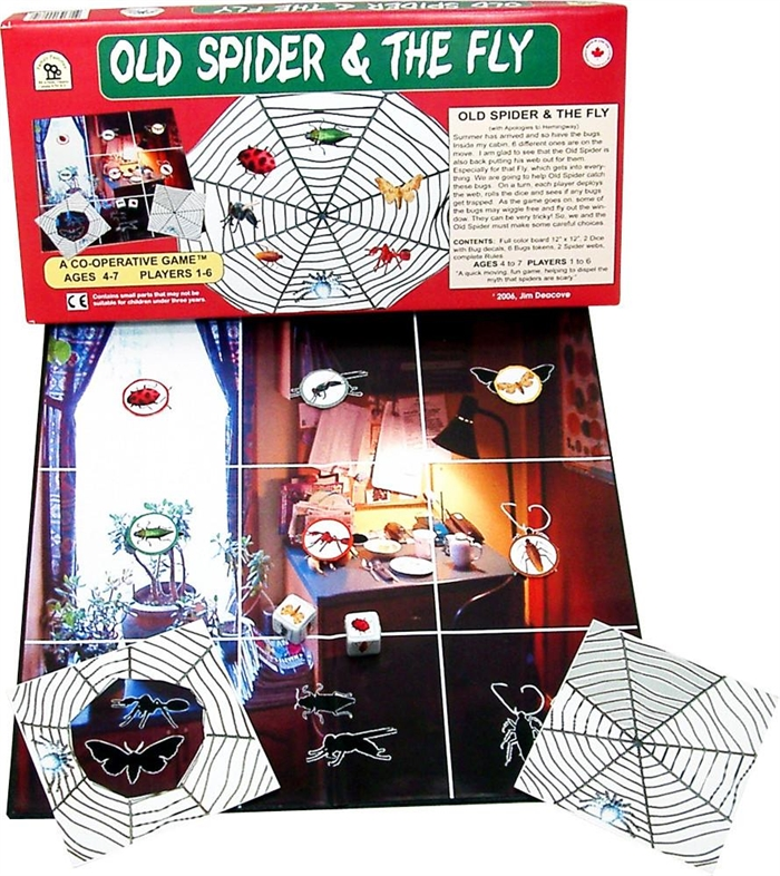 Old Spider and the Fly cooperative game