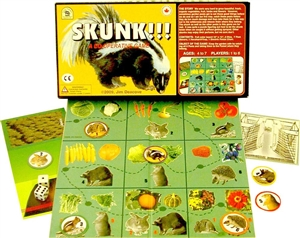 Skunk! The cooperative game about organic gardening