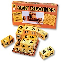 Zen Blocks cooperative game cube for all ages
