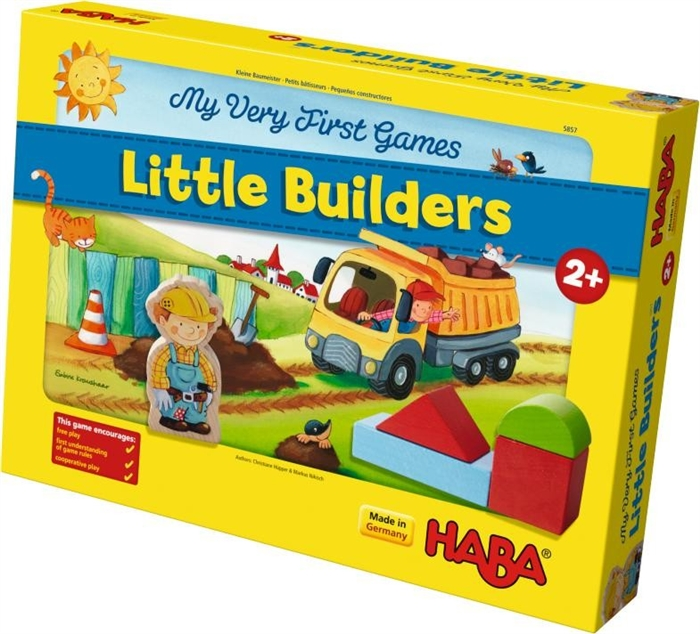 Little Builders Cooperative Game for Very Young Children