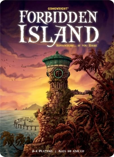 Forbidden Island cooperative fantasy adventure game