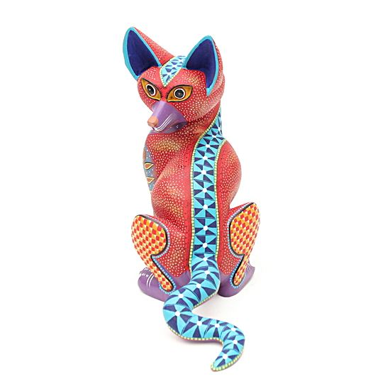 Federico the Sly Fox - Genuine Oaxacan Alebrije for Sale