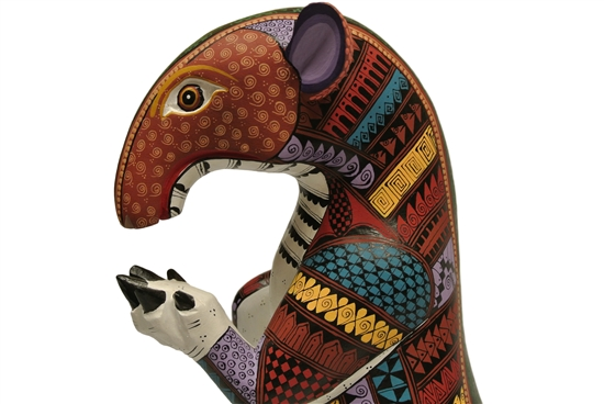 Imaginary Mashup - Genuine Oaxacan Alebrije for Sale