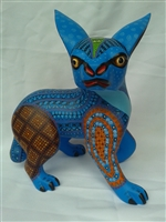 Blue Linse - Genuine Oaxacan Alebrije for Sale