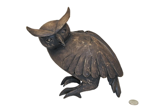 Owl Sculpture - Genuine Oaxacan Alebrije for Sale