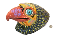 Eagle Face Sculpture - Genuine Oaxacan Alebrije for Sale