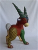 Mardis Gras the Goat Genuine Oaxacan Alebrije for Sale