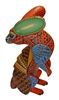 Rabbit & Armadillo Fusion - Alebrije de Oaxaca - Mexican Folk Art Decor Wood Carving by Oaxacan Artist Aldo Hernandez Melchor