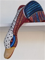 Alebrije Duck - Genuine Oaxacan Wood Carving - Fine Mexican Folk Art by Oaxacan Artist Florencio Fuentes Melchor