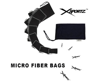 Xsportz micro fiber bags help protect your sunglasses