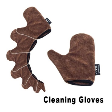 Micro fiber cleaning gloves are great for cleaning sunglasses and glasses
