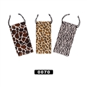 Animal Print Sunglass Pouch