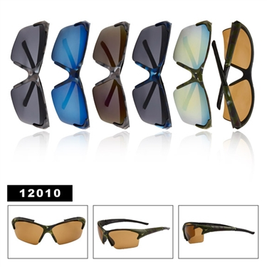 Our camo sunglasses are great for hunting or paintballing
