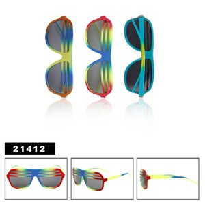 New design of wholesale shutter shade sunglasses