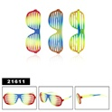 New tie-dye style of wholesale shutter shades